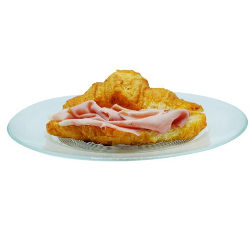 Croissant con cotto e parmigiano reggiano
