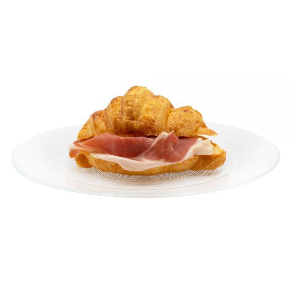 croissant crudo e parmigiano reggiano