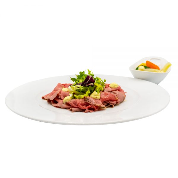 Roast Beef con giardiniera