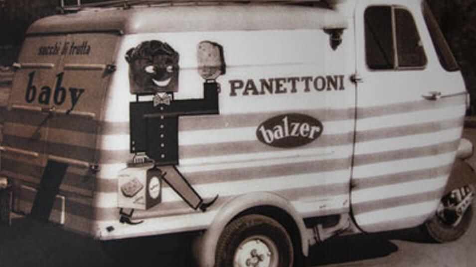 immagine apecar promozionale panettoni artigianali